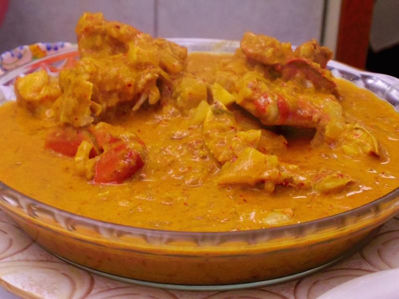 マイラン蟹カレー
