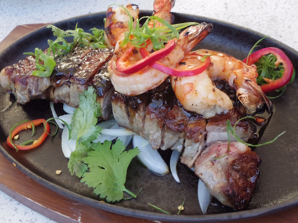 Sizzling Surf & Turf