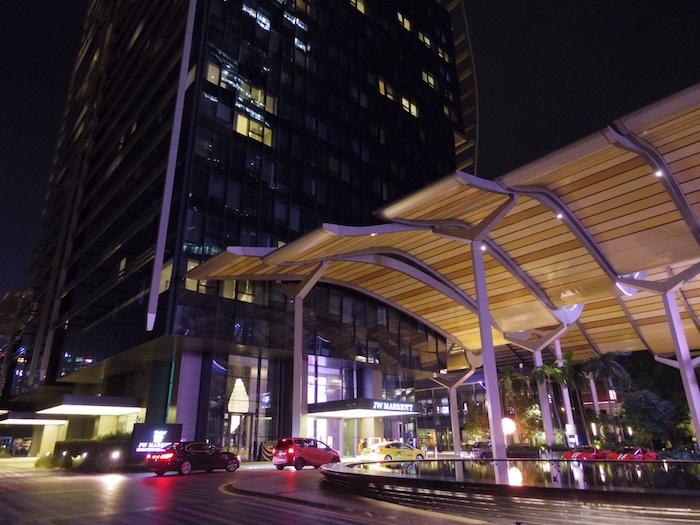 JWマリオットシンガポールホテルサウスビーチ