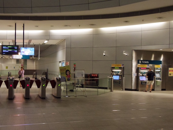 シンガポール地下鉄